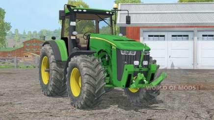 John Deere 8૩70R para Farming Simulator 2015