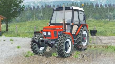 Zetor 7745〡a abertura de portas para Farming Simulator 2013
