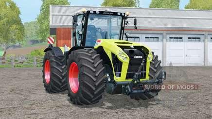 Táxi claas Xerion 4500 Trac VC〡rotating para Farming Simulator 2015