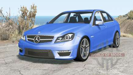 Mercedes-Benz C 63 AMG (W204) 2011 v1.1 para BeamNG Drive