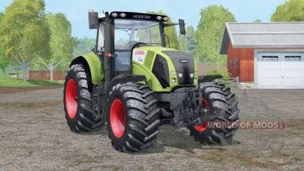 Controle interativo claas Axion 830〡 para Farming Simulator 2015
