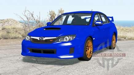 Subaru Impreza WRX STI sedan 2010 para BeamNG Drive