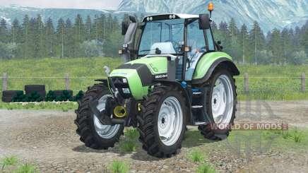Deutz-Fahr Agrotron TTV 430〡narrow rodas para Farming Simulator 2013
