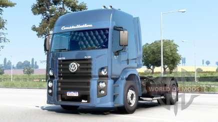 Volkswagen Constellation Titan tractor 19-320 2011 v4.0 para Euro Truck Simulator 2
