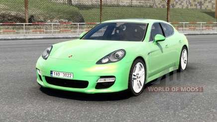 Porsche Panamera Turbo (970) 2009 v6.0 para Euro Truck Simulator 2