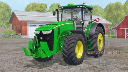 John Deere 8370R〡collapsible direção para Farming Simulator 2015