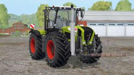 Claas Xerion 3300 Trac VC〡extra pesos para Farming Simulator 2015