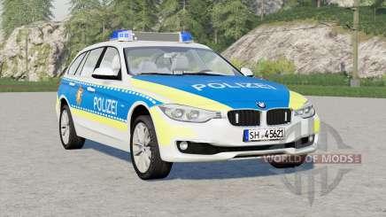 BMW 318d Touring Polizei FuStW (F31) 2015〡Schleswig-Holstein para Farming Simulator 2017