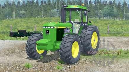 Sistema de luzes 〡 John Deere 4455 para Farming Simulator 2013
