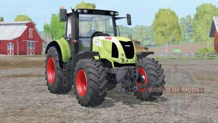 Sistema de exaustão claas Arion 620〡dinâmica para Farming Simulator 2015