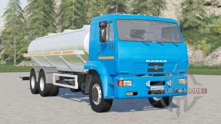 Kamaz-65117 Locomotiva de leite para Farming Simulator 2017