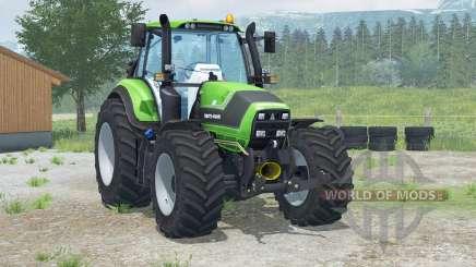 Deutz-Fahr 6190 TTV Agrotroᵰ para Farming Simulator 2013