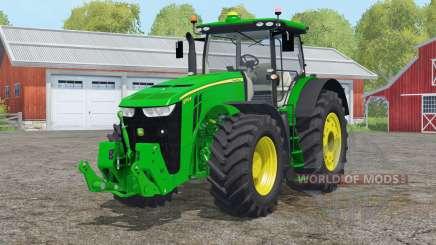 John Deere 8౩70R para Farming Simulator 2015