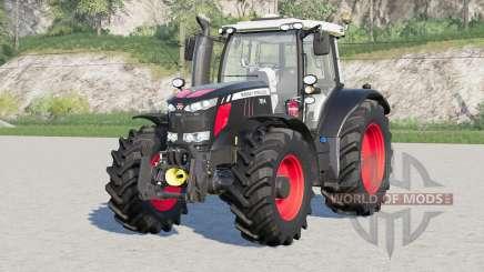 Massey Ferguson 7600 série〡chains toda a roda para Farming Simulator 2017