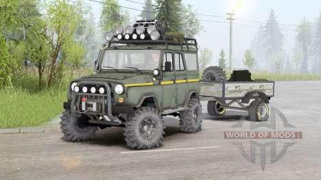 UAZ-31514 v1.5 para Spin Tires
