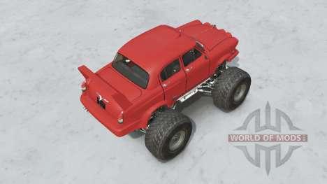 Monstro GAZ-21 para Spin Tires