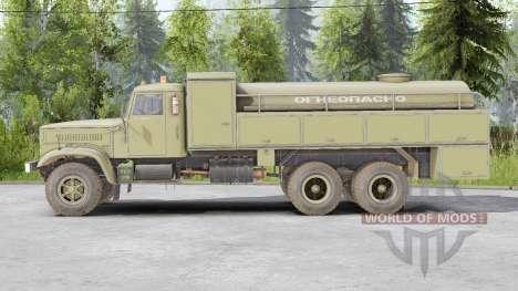 KrAZ-257 para Spin Tires