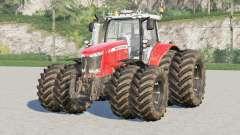 Seleção 〡 rodas da série Massey Ferguson 7700 para Farming Simulator 2017