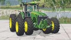 John Deere 8530〡desse e joystick para Farming Simulator 2015