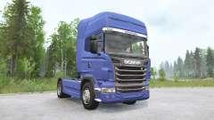 Scania R730 4x4 Topline 2009 v3.0 para MudRunner