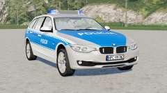 BMW Touring 318d (F31) 2015〡Policja para Farming Simulator 2017