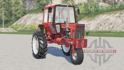 Opções de cores MTZ-80X Bielorrússia 41214 para Farming Simulator 2017