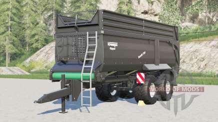Krampe Bandit 750〡novas configurações de pneus para Farming Simulator 2017