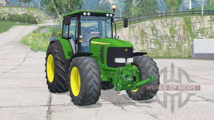 John Deere 6920S〡fronta hidráulica ou peso para Farming Simulator 2015