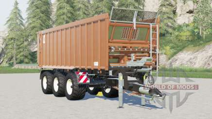 Kroger Agroliner TAW 30〡atara capacidade de carregamento ilimitado para Farming Simulator 2017