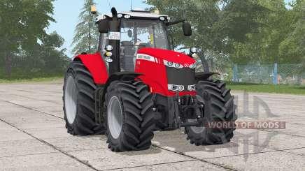 Massey Ferguson 7700 série〡após-se para Farming Simulator 2017
