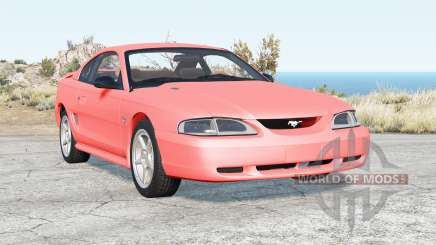 Ford Mustang GT coupe 1996 v1.0 para BeamNG Drive