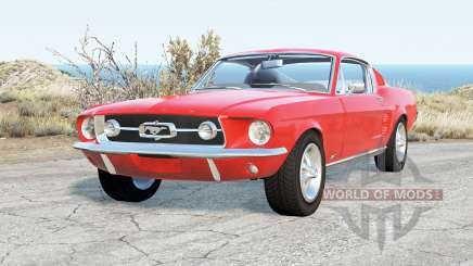 Ford Mustang GT-A Fastback 1967 para BeamNG Drive