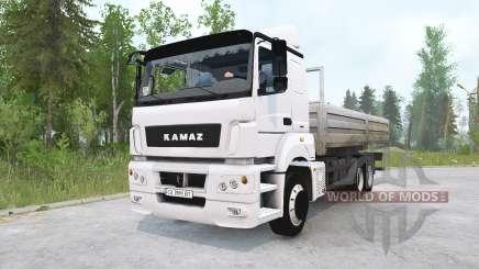 KAMAZ-65207 para MudRunner
