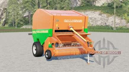 Gallignani 9250 SL〡rond baler para Farming Simulator 2017