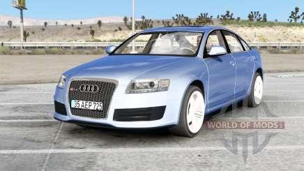 Audi RS 6 sedan (C6) 2008 v2.0 para American Truck Simulator