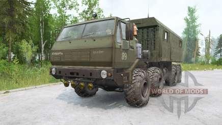 KrAZ-7E6316 Sibéria para MudRunner