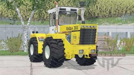 Raba 300 4WD〡 rodas adicionadas para Farming Simulator 2015