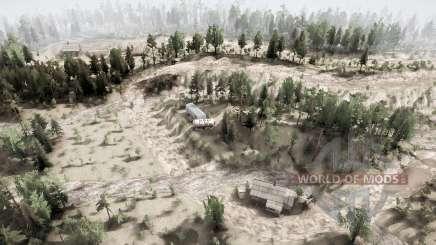 Twin Peaks v1.1 para MudRunner