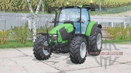 Luzes funcionais deutz-Fahr 5130 T〡TV para Farming Simulator 2015