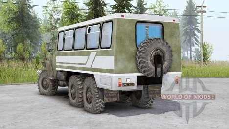 Ural-4320-10 v1.2 para Spin Tires