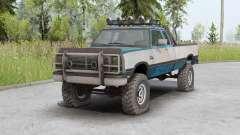 Dodge Power Ram 250 Club Cab 1990 v1.2 para Spin Tires