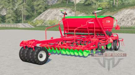 Unia Idea XL 3-2200〡seed drill para Farming Simulator 2017