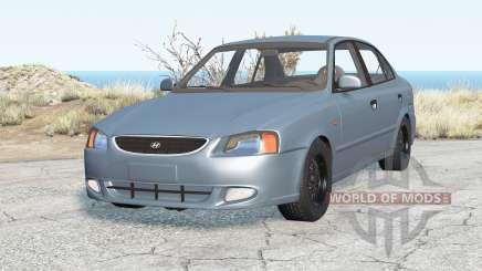Hyundai Accent Sedan 2003 v2.0 para BeamNG Drive