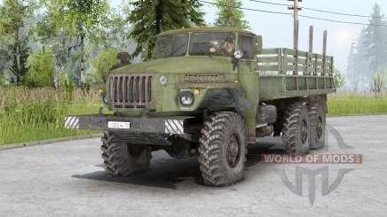 Ural-4320-10 v1.1 para Spin Tires