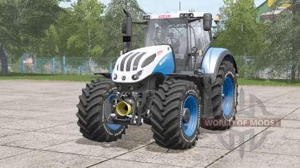 Steyr Terrus 6000 CVT〡tire inscrição em branco para Farming Simulator 2017