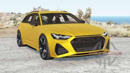 Audi RS 6 Avant (C8) 2019 v2.1 para BeamNG Drive