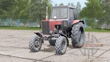 Vibração do motor MTZ-82 Bielorrússia para Farming Simulator 2017