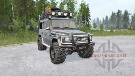 Mercedes-Benz G 500 (W463) para MudRunner
