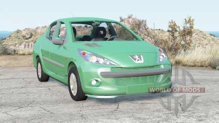 Peugeot 207 Passion 2008 para BeamNG Drive