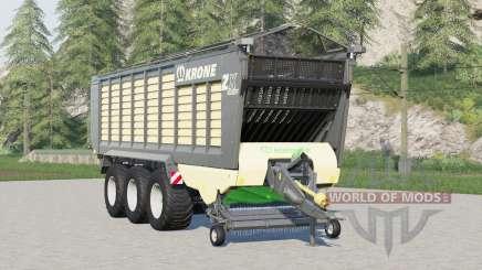 Krone ZX 560 GD〡com ou sem cobertura para Farming Simulator 2017